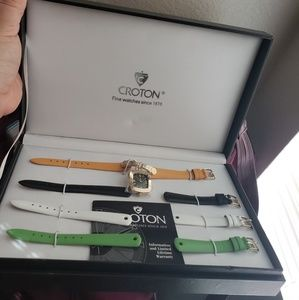 Croton interchangeable watch set